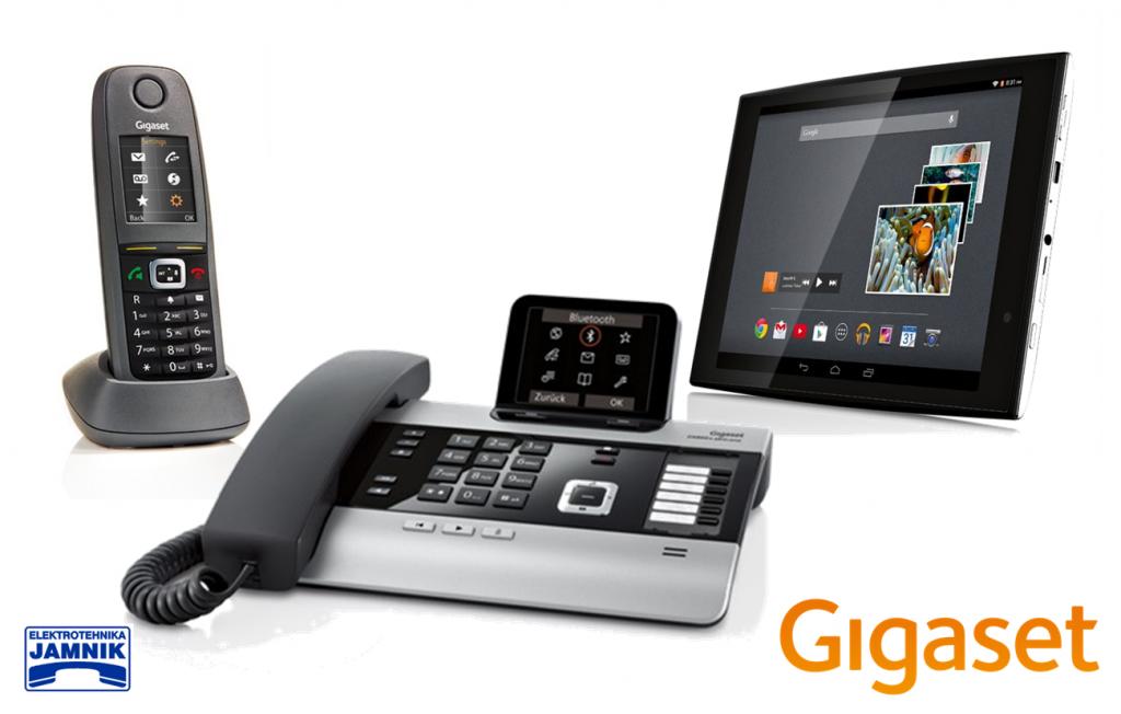Gigaset telefoni, tablice, DECT sistemi