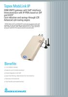 Topex_GSM_VoIP_MobiLink_IP