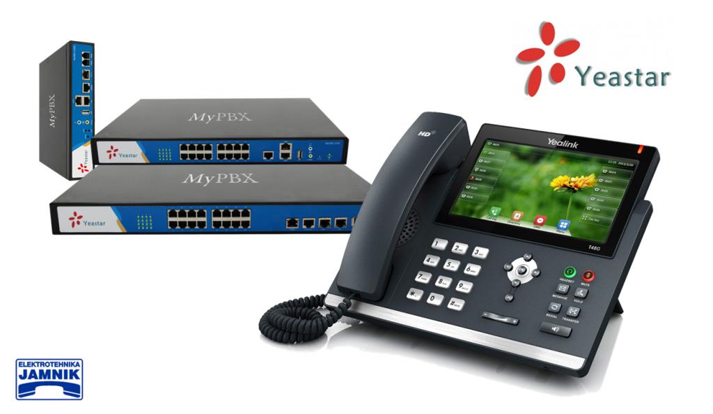 IP PBX sistem za mala in srednja podjetja. Yeastar S serija