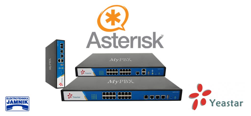 MyPBX programska oprema temelji na Asterisku