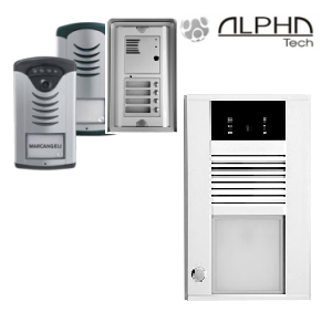 IP, GSM in analogni domofoni Alphatech