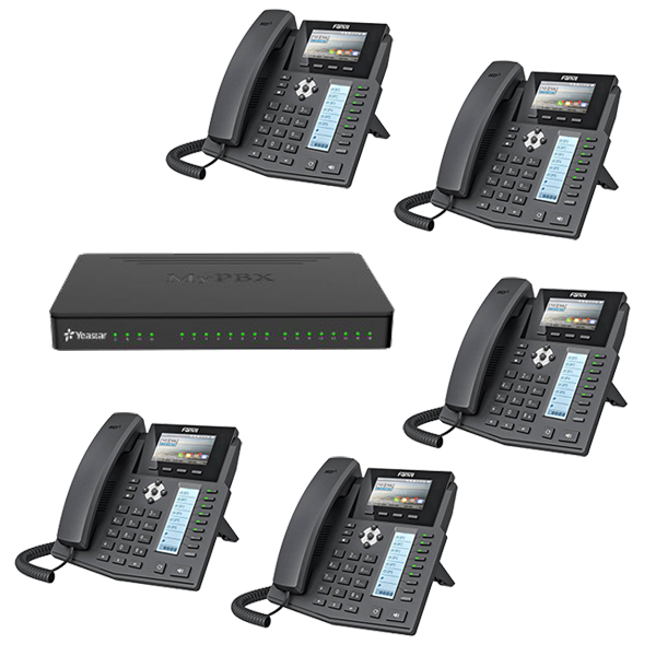 Yeastar IP sistem+Fanvil telefoni