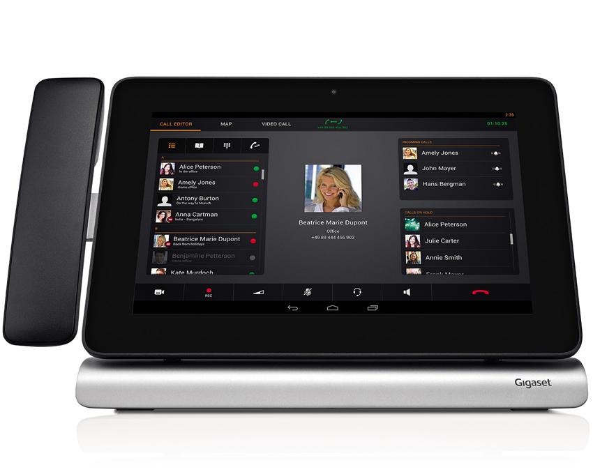 Maxwell 10SD IP namizni telefon z brezžično DECT slušalko