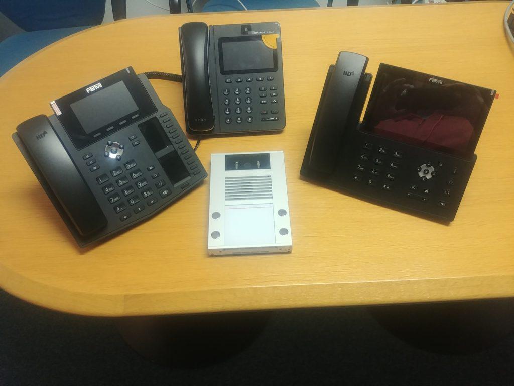 VoIP domofon malo drugače