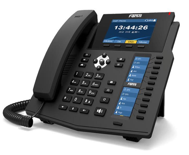 Fanvil X6, IP telefon za zahtevna delovna mesta z veliko dodatnih tipk in funkcij