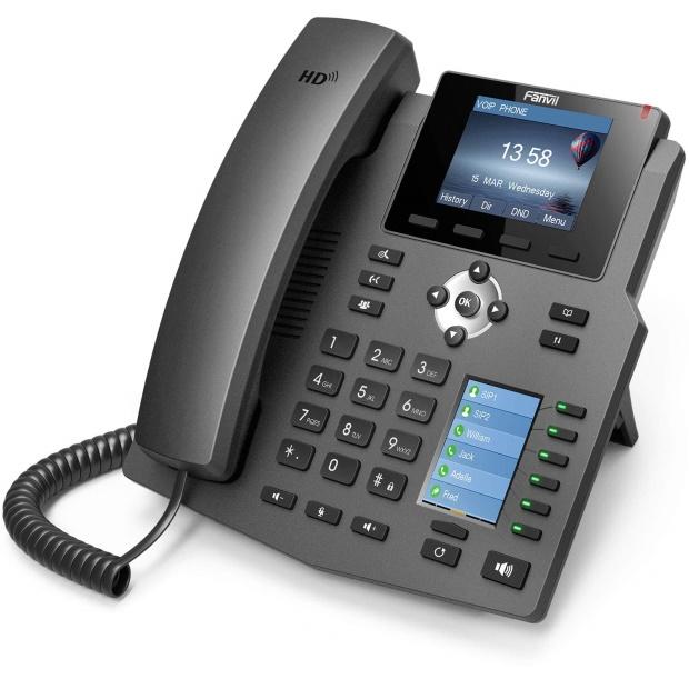 Fanvil X4IP namizni telefonski aparat srednjega razreda